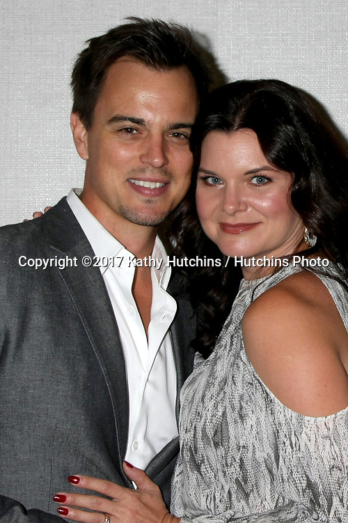 LOS ANGELES - AUG 20:  Darin Brooks, Heather Tom at the Bold and the Beautiful Fan Event 2017 at the Marriott Burbank Convention Center on August 20, 2017 in Burbank, CA