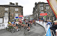 Picture by SWpix.com 17/06/2018 - Cycling - The 2018 OVO Energy Women's Tour - Stage 5: Wales - Dolgellau to Colwyn Bay -Race rolls out of Dolgellau