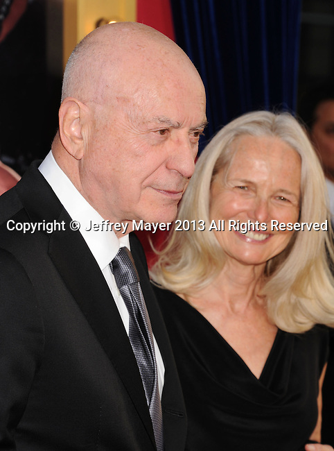 HOLLYWOOD, CA - MARCH 11: Alan Arkin arrives at the 'The Incredible Burt Wonderstone' - Los Angeles Premiere at TCL Chinese Theatre on March 11, 2013 in Hollywood, California.