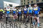 At the Lacey Cup on Sunday were Tralee Cycle Club Shane Flynn, Ciara Tierney, Joe Roche, John Roche, Trevor Farmer, Kenneth Leahy