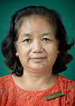 Zohmingthangi Sailo, the executive secretary of the Women's department of the Myanmar Council of Churches. Here she is pictured in Kalay, Myanmar.