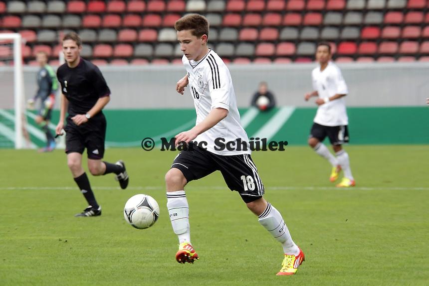 Johannes Eggestein (D; TSV Havelse) erzielt das 1:0