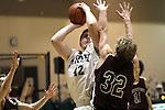 Photograph from the 2009-10 Mt. Rainier Lutheran High School boy's basketball season.