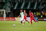 Atlético Nacional venció como local 3-0 a Patriotas. Fecha 18 Liga Águila II-2017.