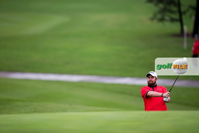 Shane Lowry (IRL) on the 10th during the 1st round of the  WGC-HSBC Champions, Sheshan International GC, Shanghai, China PR.  27/10/2016<br /> Picture: Golffile | Fran Caffrey<br /> <br /> <br /> All photo usage must carry mandatory copyright credit (&copy; Golffile | Fran Caffrey)