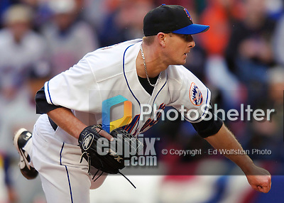 3 April 2006: Billy Wagner, pitcher for the New York Mets, on the mound during Opening Day play against the Washington Nationals at Shea Stadium, in Flushing, New York. The Mets defeated the Nationals 3-2 to lead off the 2006 MLB season...Mandatory Photo Credit: Ed Wolfstein Photo..