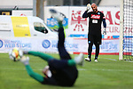 Jose Pepe Reina, Luigi Sepe in action at a Pre-Season Friendly Football match SSC Napoli vs FC Carpi  on 18/07/2017 in Trento, Italy.
