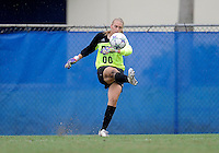 Florida International University women's soccer player Kaitlyn Savage (00) plays against the University of Denver on October 16, 2011 at Miami, Florida. FIU won the game 1-0. .