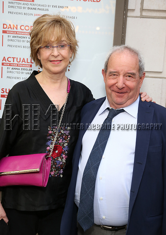 Jill Eikenberry and Michael Tucker attends the Broadway Opening Night performance of 'The Prince of Broadway' at the Samuel J. Friedman Theatre on August 24, 2017 in New York City.