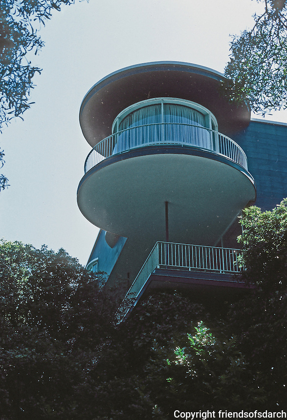 Erich Mendelsohn: House in San Francisco. Photo '78.