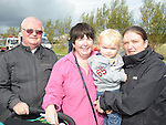 Thomas, Mary, Nicola and Mark Mulholland pictured at the Boyne Fishermans Rescue and Recovery open day. Photo: Colin Bell/pressphotos.ie
