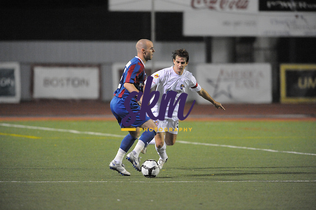 Crystal Palace Baltimore fell 3 -1 to Puerto Rico Islanders Saturday night at UMBC as a light rain fell.