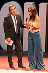 "The spanish journalists Inaki Gabilondo and Mamen Mendizabal during the Gala ""Contigo"" in celebration of the 90th anniversary of Radio Madrid Cadena SER. June 2, 2015. (ALTERPHOTOS/Acero)"
