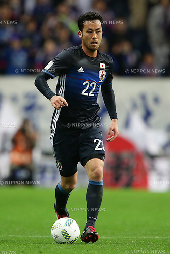 Maya Yoshida (JPN), March 24, 2016 - Football / Soccer : Maya Yoshida of Japan runs with the ball during the 2018 FIFA World Cup Russia & AFC Asian Cup UAE 2019 Preliminary Joint Qualification-Round2 match between Japan and Afghanistan at Saitama Stadium 2002 in Saitama, Japan (Photo by AFLO)