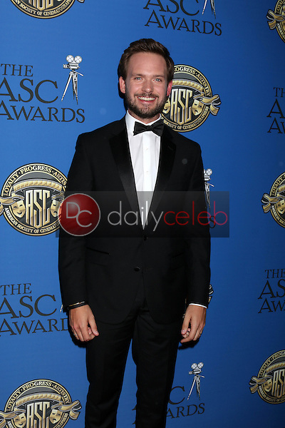 Patrick J. Adams<br /> at the 31st Annual American Society Of Cinematographers Awards, Ray Dolby Ballroom, Hollywood, CA 02-04-17<br /> David Edwards/DailyCeleb.com 818-249-4998