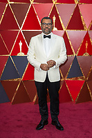 Oscar&reg; nominee for Best Director, Jordan Peele arrives on the red carpet of The 90th Oscars&reg; at the Dolby&reg; Theatre in Hollywood, CA on Sunday, March 4, 2018.<br /> *Editorial Use Only*<br /> CAP/PLF/AMPAS<br /> Supplied by Capital Pictures
