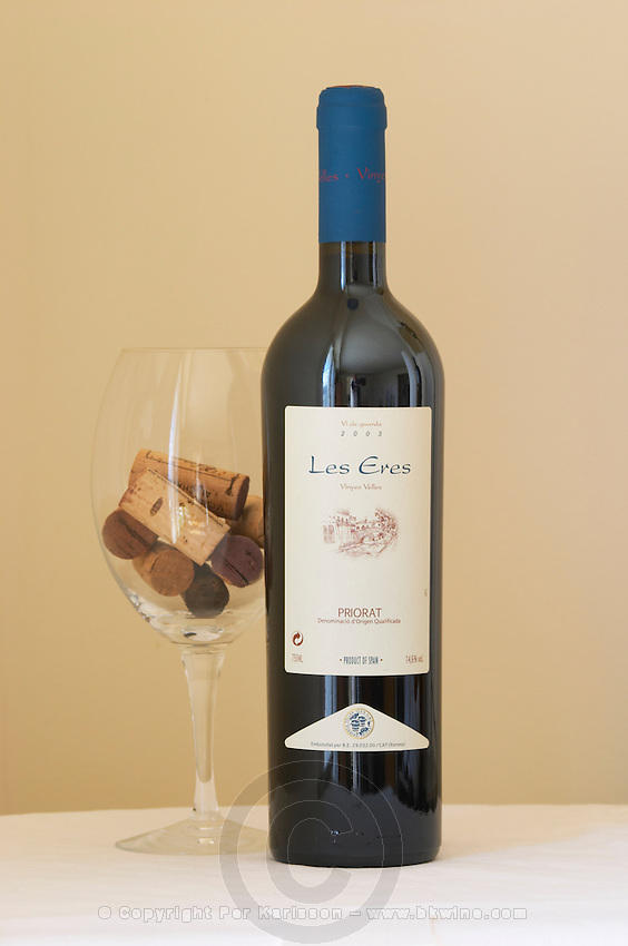 Les Eres Vinyes Velles 2003, Celler Joan Simo. Priorato, Catalonia, Spain.