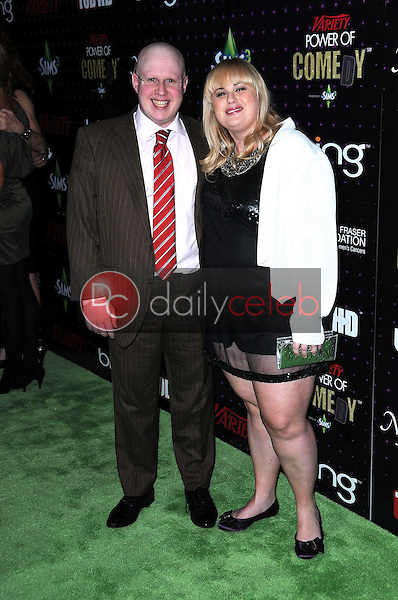 Matt Lucas and Rebel Wilson<br />