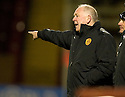 10/11/2010   Copyright  Pic : James Stewart.sct_jspa010_motherwell_v_st_johnstone  .:: MOTHERWELL MANAGER CRAIG BROWN  ::.James Stewart Photography 19 Carronlea Drive, Falkirk. FK2 8DN      Vat Reg No. 607 6932 25.Telephone      : +44 (0)1324 570291 .Mobile              : +44 (0)7721 416997.E-mail  :  jim@jspa.co.uk.If you require further information then contact Jim Stewart on any of the numbers above.........