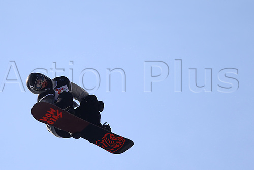 11th November 2017, Milan, Italy; Big Air FIS Freestyle Snowboard World Cup; Federico Chiaradio (ARG)
