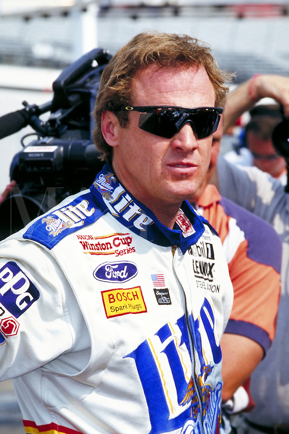 RUSTY WALLACE WINSTON CUP RACE DOVER DOWNS SPEEDWAY. RUSTY WALLACE, PROFESSIONAL RACE CAR DRIVER. DOVER DELAWARE USA.