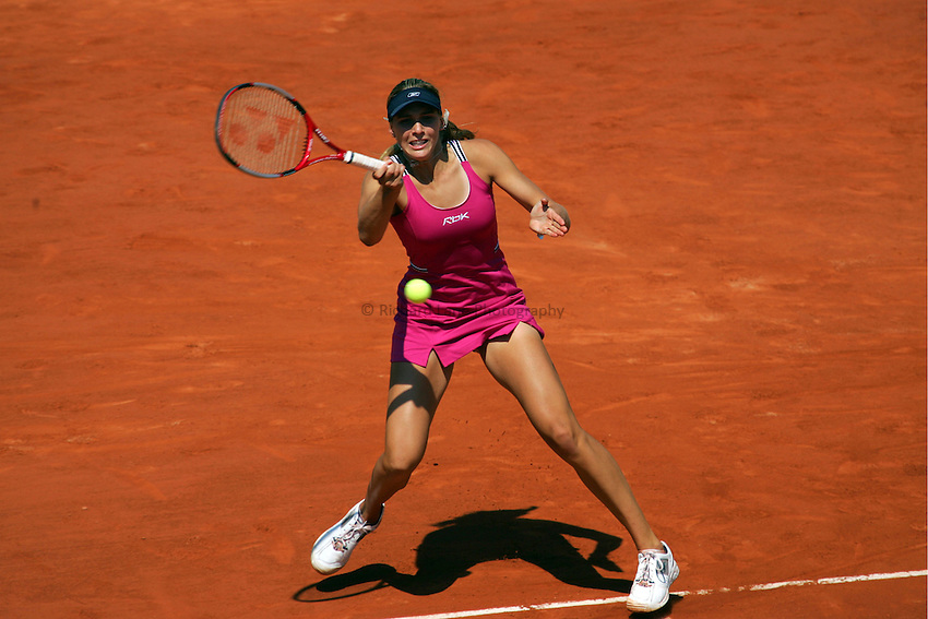 Photo: Iconsport/Richard Lane Photography..Roland Garros 2006. .09/06/2006..Nicole Vaidisova of Czech Republic..