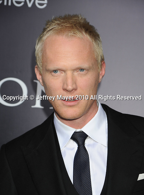 "HOLLYWOOD, CA. - January 21: Paul Bettany attends the ""Legion"" Los Angeles premiere at ArcLight Cinemas Cinerama Dome on January 21, 2010 in Hollywood, California."