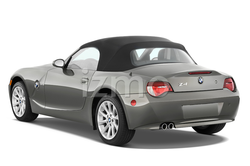 Rear three quarter view of a 2008 BMW Z4 Roadster