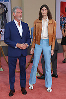 """LOS ANGELES - JUL 22:  Pierce Brosnan, Dylan Brosnan at the """"Once Upon a Time in Hollywood"""" Premiere at the TCL Chinese Theater IMAX on July 22, 2019 in Los Angeles, CA"""