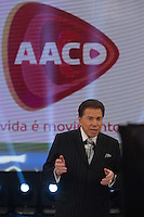 OSASCO, SP, 26.10.2013 - TELETON - Apresentador Silvio Santos durante Teleton 2013 na sede do SBT neste sabado26. (Foto: Vanessa Carvalho /Brazil Photo Press)