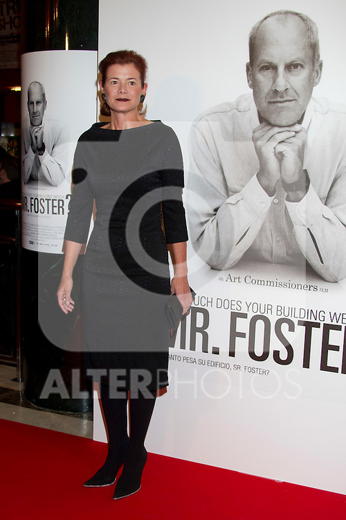 Elena Ochoa  attends 'How Much Does Your Building Weigh, Mr. Foster?' premiere at the Verdi Cinema on October 5, 2010 in Madrid, Spain. ..Photo: Cesar Cebolla  / ALFAQUI