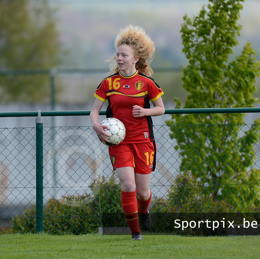 U 16 Belgian red Flames - virginia USA :<br /> <br /> Charlotte Tison<br /> <br /> foto Dirk Vuylsteke / Nikonpro.be