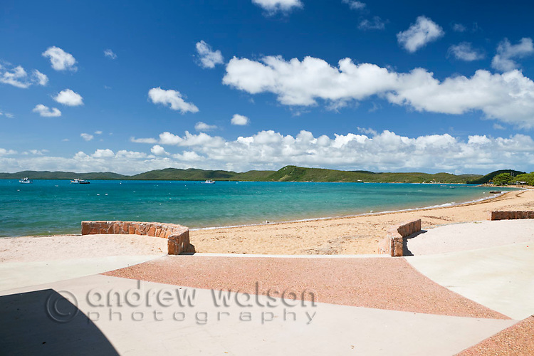 Victoria Parade foreshore.  Thursday Island, Torres Strait Islands, Queensland, Australia