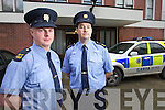 Tralee Gardai Michael Dowling and Marcus Twomey who rescued a woman from a house in Tralee on Saturday night.