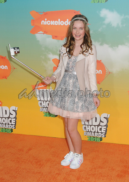 12 March 2016 - Inglewood, California - BeautyNezz. 2016 Nickelodeon Kids' Choice Awards held at The Forum. Photo Credit: Byron Purvis/AdMedia