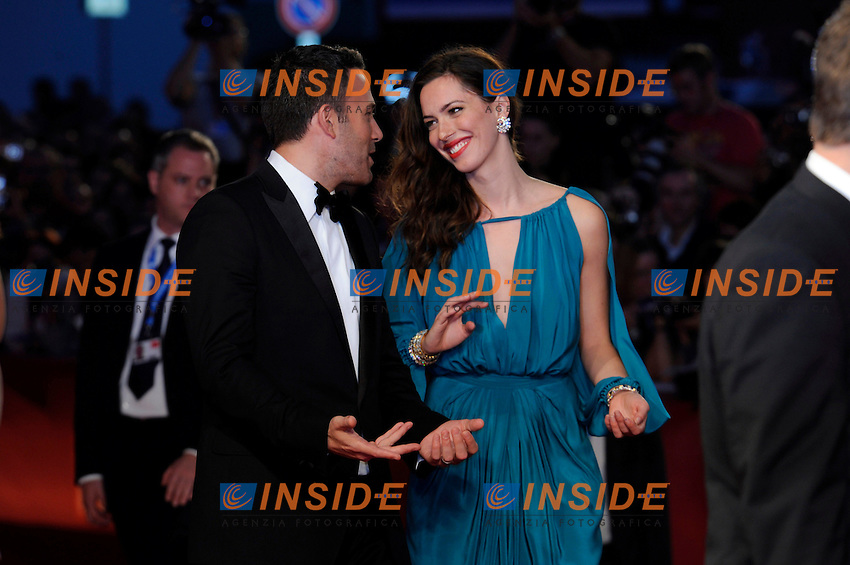 "- ""67 Mostra Internazionale D'Arte Cinematografica"". Wednesday, 2010 September 08, Venice ITALY..- In The Picture: The film director and actor Ben Affleck with the actress Rebecca Hall on the red carpet for the premiere of the film  ""THE TOWN""...Photo STEFANO MICOZZI / Insidefoto"