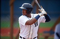 Detroit Tigers Randel Alcantara (3) during a minor league Spring Training game against the Washington Nationals on March 28, 2016 at Tigertown in Lakeland, Florida.  (Mike Janes/Four Seam Images)