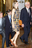 27 July 2016, Madrid, Spain - Queen Letizia Instituto Cervantes meeting in Madrid. # LA REINE LETIZIA D'ESPAGNE A L'INSTITUT 'CERVANTES' A MADRID