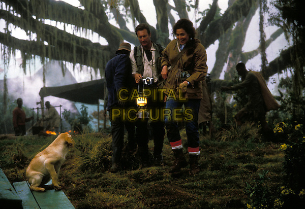Gorillas in the Mist (1988) <br /> Bryan Brown, Sigourney Weaver<br /> *Filmstill - Editorial Use Only*<br /> CAP/KFS<br /> Image supplied by Capital Pictures