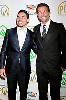 LOS ANGELES - JAN 19:  Anthony Ramos, Bradley Cooper at the 2019 Producers Guild Awards at the Beverly Hilton Hotel on January 19, 2019 in Beverly Hills, CA