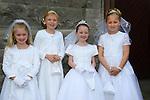 24/05/2015 – St. Mary's Communion – Brianna Hinchy, Liby Boylan, Ellen Bagnall and Aoife Farrell.
