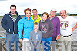 Blown away boy enjoying the opening of Keel pier on Saturday was l-r: Stephen O'Connor, Dara Murphy-Barton, Shauna Murphy-Barton, Jack O'Connell, John Joe O'Brien and John Ahern