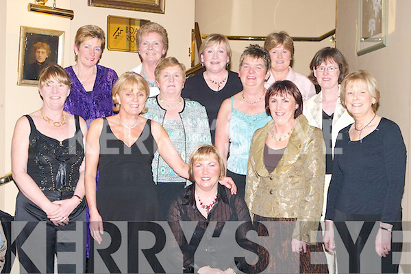 NEIGHBOURS: Neighbours and friends gathered at The Abbey Gate Hotel, Tralee, on Saturday night to mark Womens Christmas. Front l-r: Mary Quillinan, Marie Morrisson, Ann Burrows, Noreen Pigott and Mona Coote. Back were Eleanor Dowd, Imelda Slattery, Sheila O'Connor, Maria Heaslip, Kathleen Burrows, Kathleen Herlihy and Kathleen Houlihan.