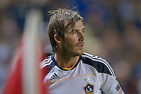 CARSON, CA – OCTOBER 24: LA Galaxy midfielder David Beckham during a soccer match at the Home Depot Center, October 24, 2010 in Carson, California. Final score LA Galaxy 2, Dallas FC 1.