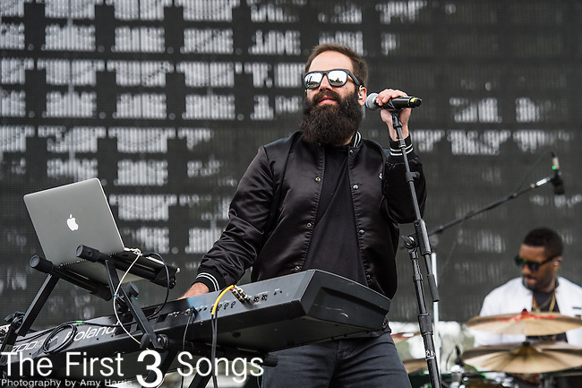 Sebu Simonian of Capital Cities performs at the Outside Lands Music & Art Festival at Golden Gate Park in San Francisco, California.