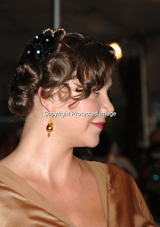 "Maggie Gyllenhaal..at The New York Premiere of ""Trust The Man"" directed..by Bart Freundlich and starring Julianne Moore, David ..Duchovny, Billy Crudup, Eva Mendes and Maggie Gyllenhaal on August 7, 2006 at The Chelsea West Cinemas...Robin Platzer, Twin Images"