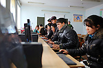 Uzbekistan, Bukhara - 18 December 2014 -- Vabkent Domestic Service School. -- Third year students during computer lessons.  -- PHOTO: Elyor Nematov / EUP- Images