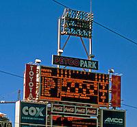 San Diego: Petco Park's Scoreboard.