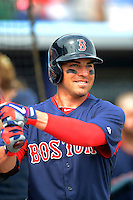 Boston Red Sox outfielder Jacoby Ellsbury #2 before a Grapefruit League Spring Training game against the Tampa Bay Rays at Charlotte County Sports Park on February 25, 2013 in Port Charlotte, Florida.  Tampa Bay defeated Boston 6-3.  (Mike Janes/Four Seam Images)