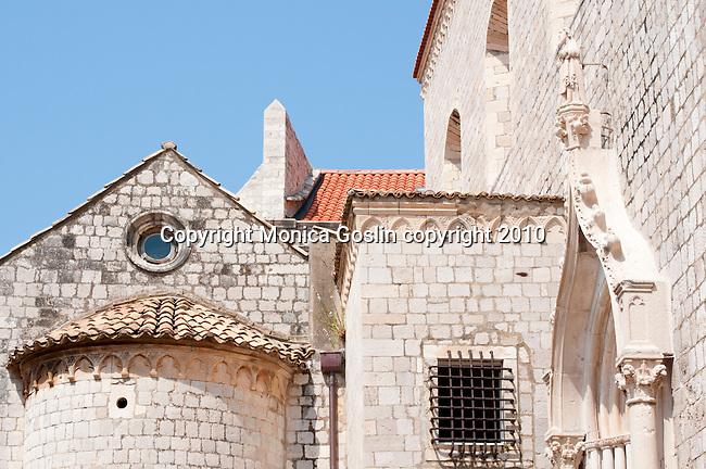 Dominican Monastery and Museum in Dubrovnik, Croatia.